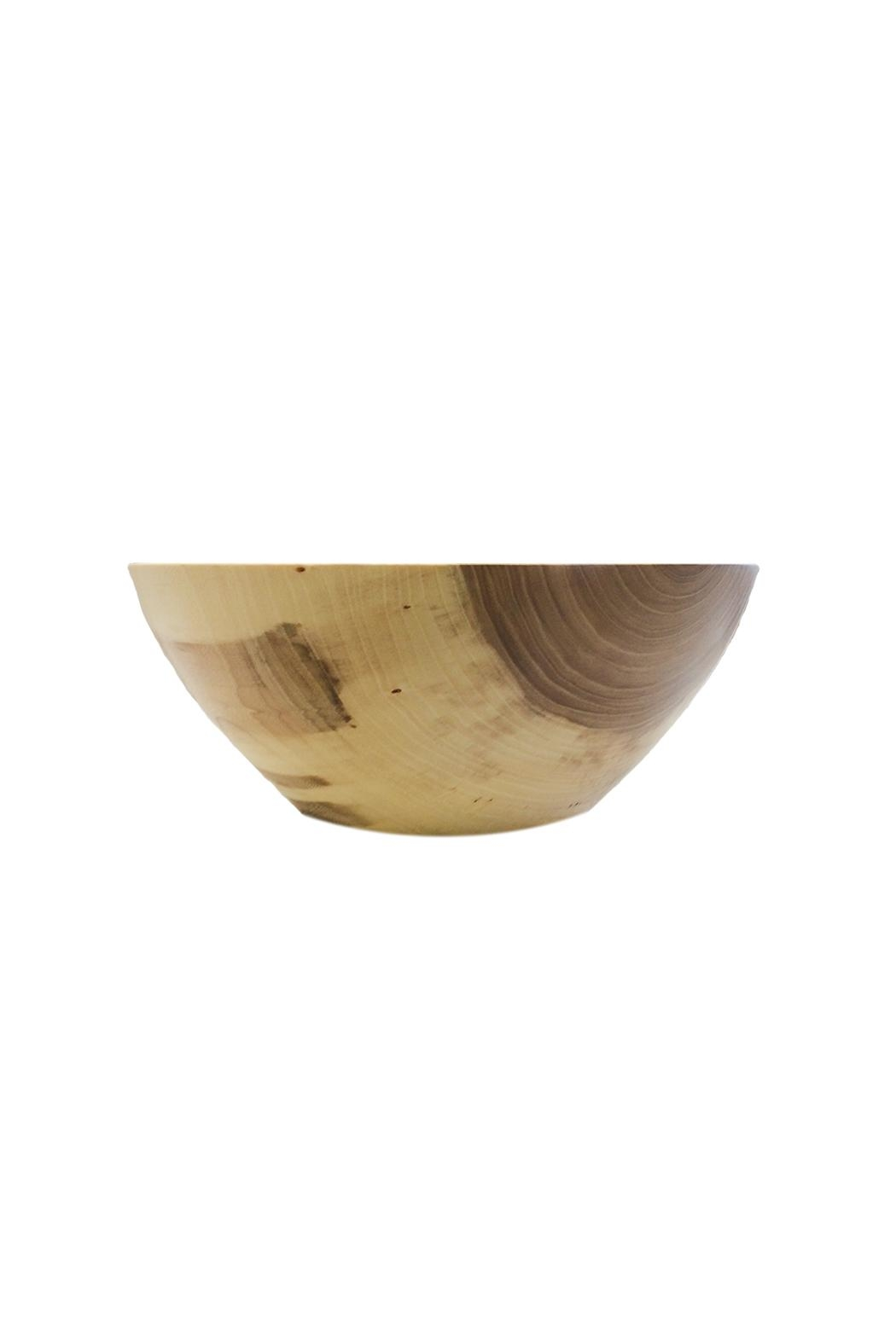 St. Germain Crafts Elm Wood Bowl - Side Cropped Image