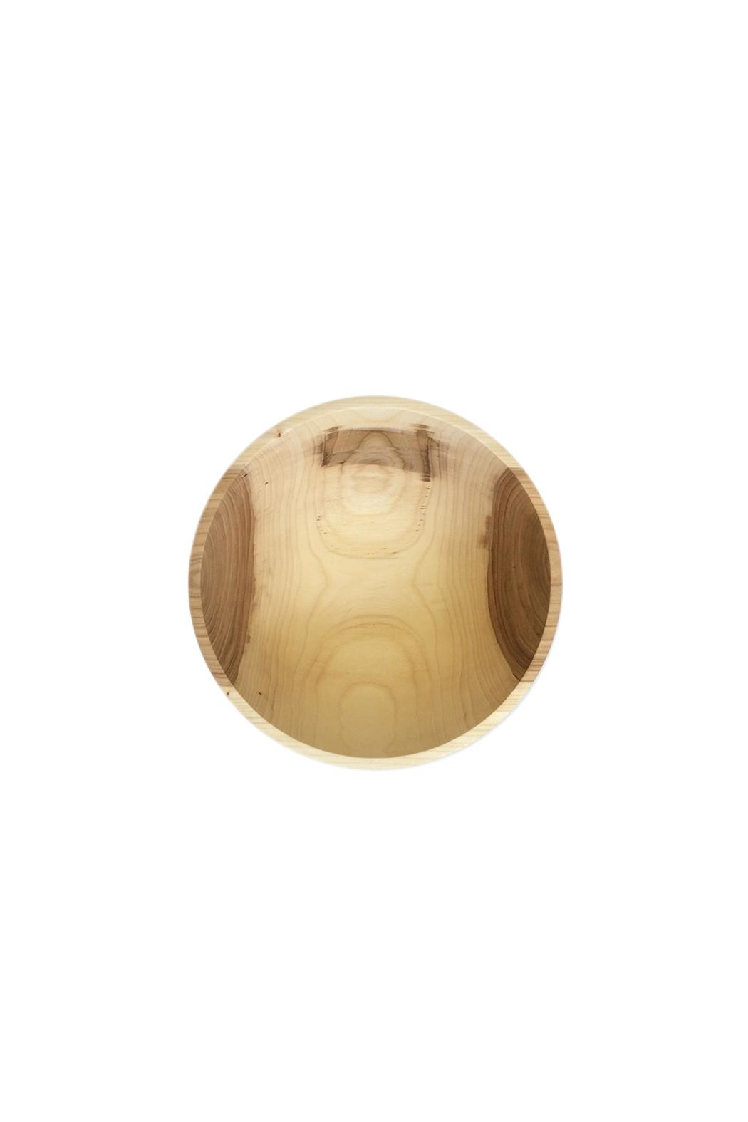 St. Germain Crafts Elm Wood Bowl - Front Full Image