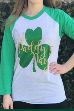 Next Level St. Paddy's Raglan - Product List Image
