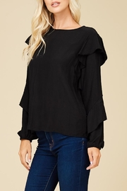 Staccato All Ruffled Up Top - Back cropped
