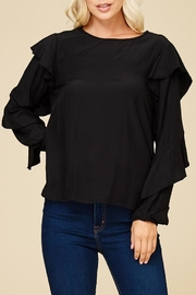 Staccato All Ruffled Up Top - Front full body