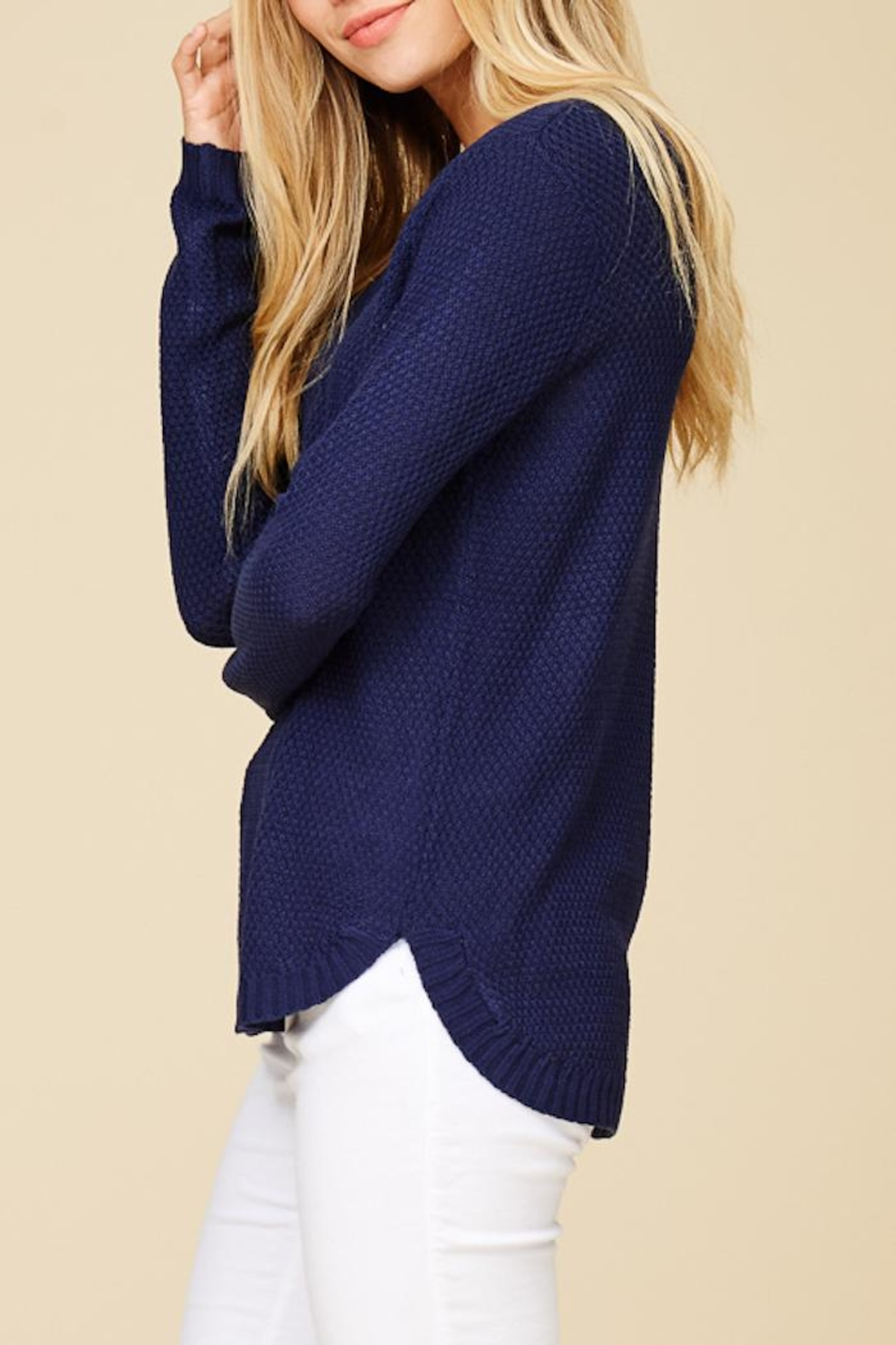 Staccato Back To Basic Top - Side Cropped Image