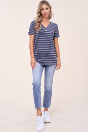Staccato Basic Striped Tee - Product Mini Image