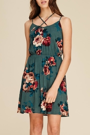 Staccato Basket Of Roses - Front full body