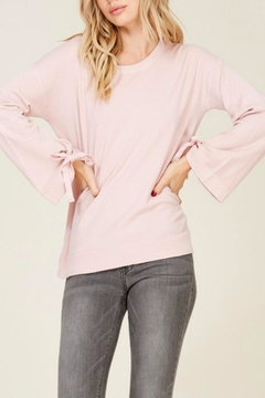 Shoptiques Product: Bell Tie Sleeve
