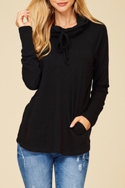 Staccato Black Drawastring Top - Product Mini Image