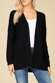 Staccato Black Knit Cardigan - Product Mini Image