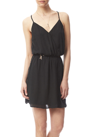 Staccato Black Mini- Belted Dress - Product Mini Image