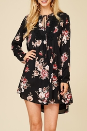 Staccato Bushel Of Roses Dress - Front full body