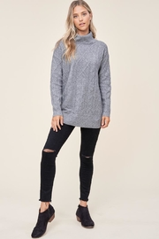 Staccato Cable Crush Sweater - Product Mini Image