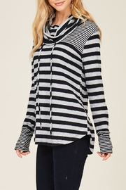Staccato Caught Up Cowl Sweatshirt - Side cropped