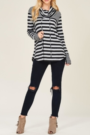 Staccato Caught Up Cowl Sweatshirt - Front cropped