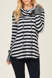 Staccato Caught Up Cowl Sweatshirt - Front full body