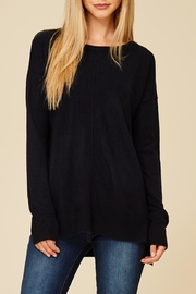Staccato Center Seam Sweater Top - Front cropped