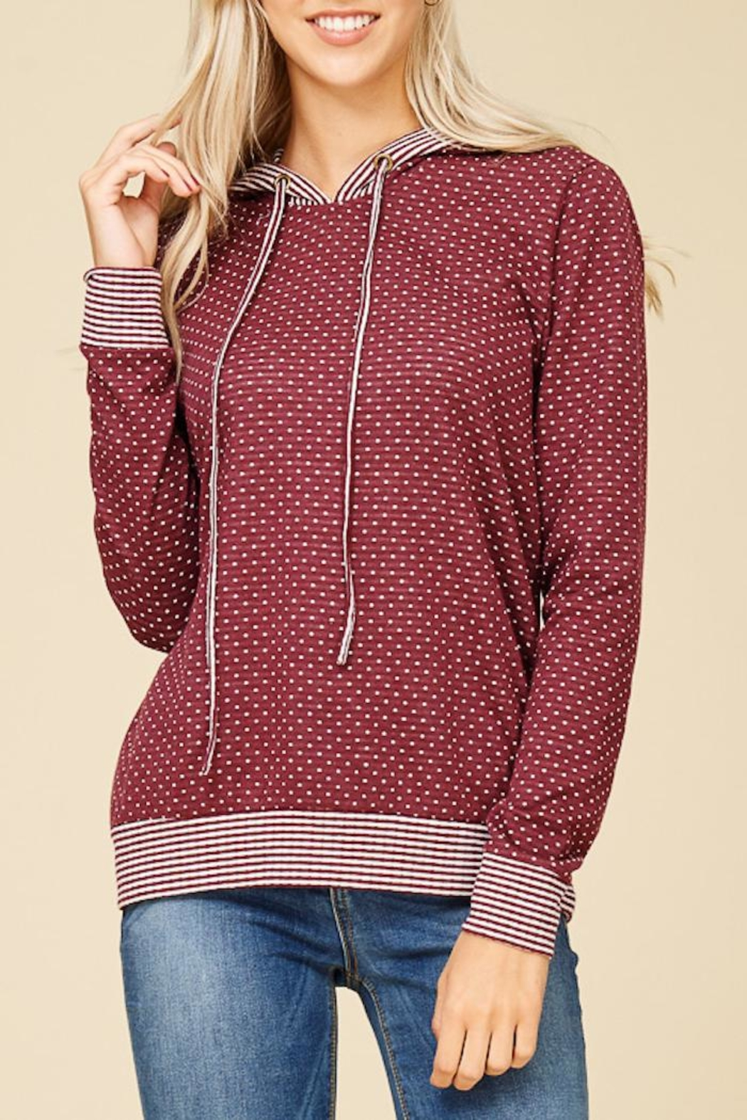 Staccato Connect The Dots Sweater - Side Cropped Image