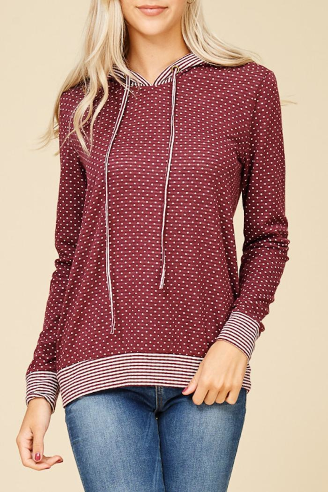 Staccato Connect The Dots Sweater - Front Full Image