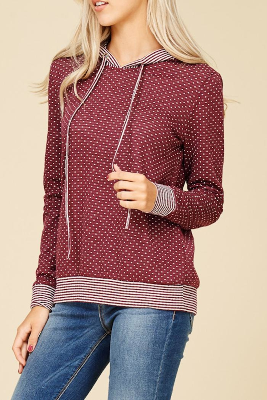 Staccato Connect The Dots Sweater - Back Cropped Image