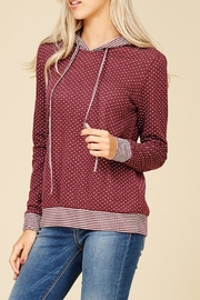 Staccato Connect The Dots Sweater - Back cropped