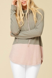 Staccato Cowl Neck Sweater - Product Mini Image
