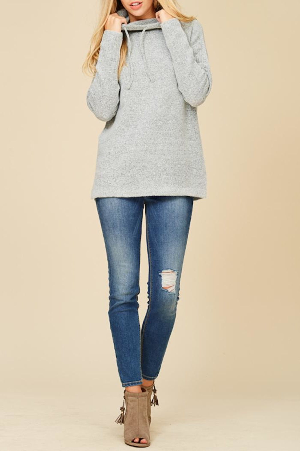 Staccato Cuddle Me Softly Sweater - Main Image
