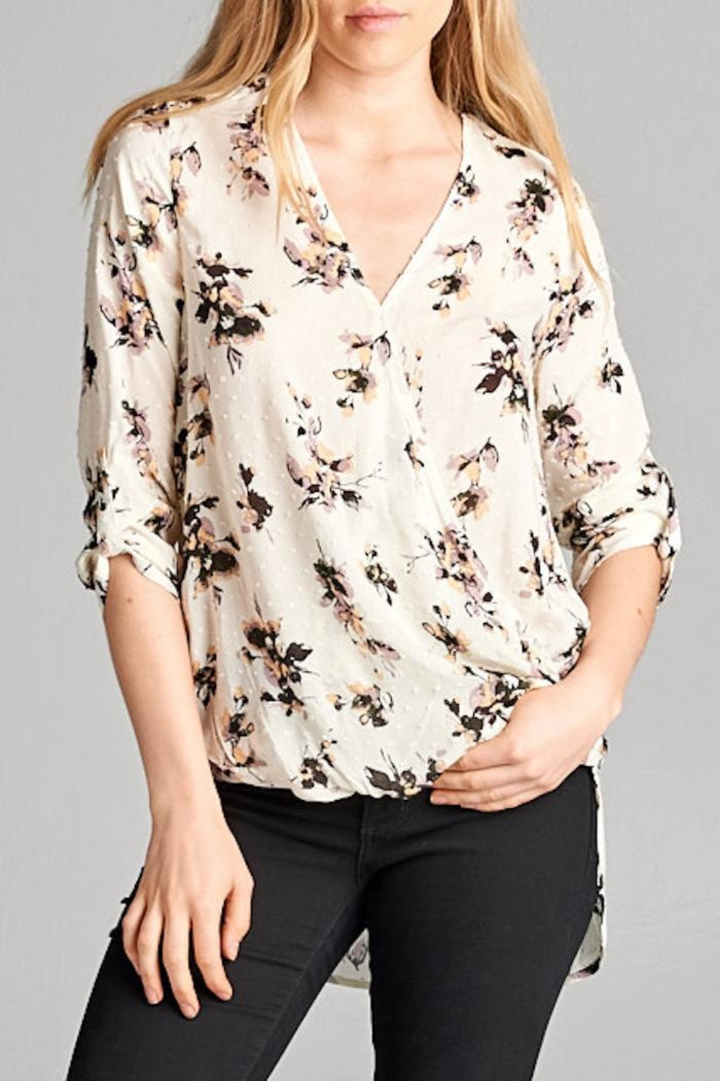 63431f7c82ba7 Wrap Blouse With Collar – Rockwall Auction