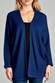 Staccato Dolman Textured Cardigan - Product Mini Image