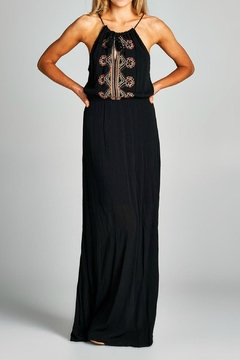 Staccato Embroidered Maxi Dress - Product List Image