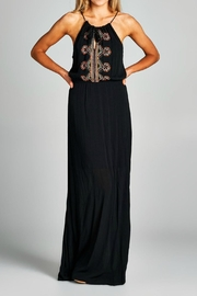 Staccato Embroidered Maxi Dress - Product Mini Image