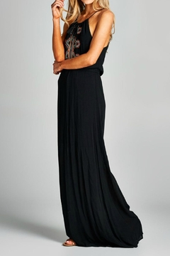 Staccato Embroidered Maxi Dress - Alternate List Image