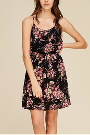 Staccato Feathered Floral Dress - Product Mini Image