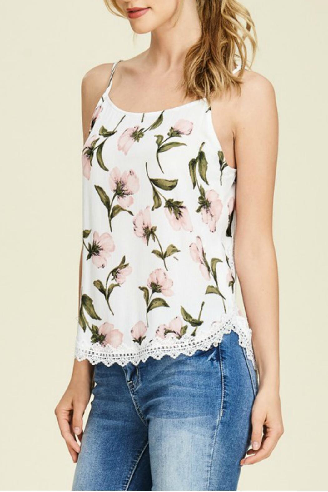 Staccato Floral Camisole - Main Image