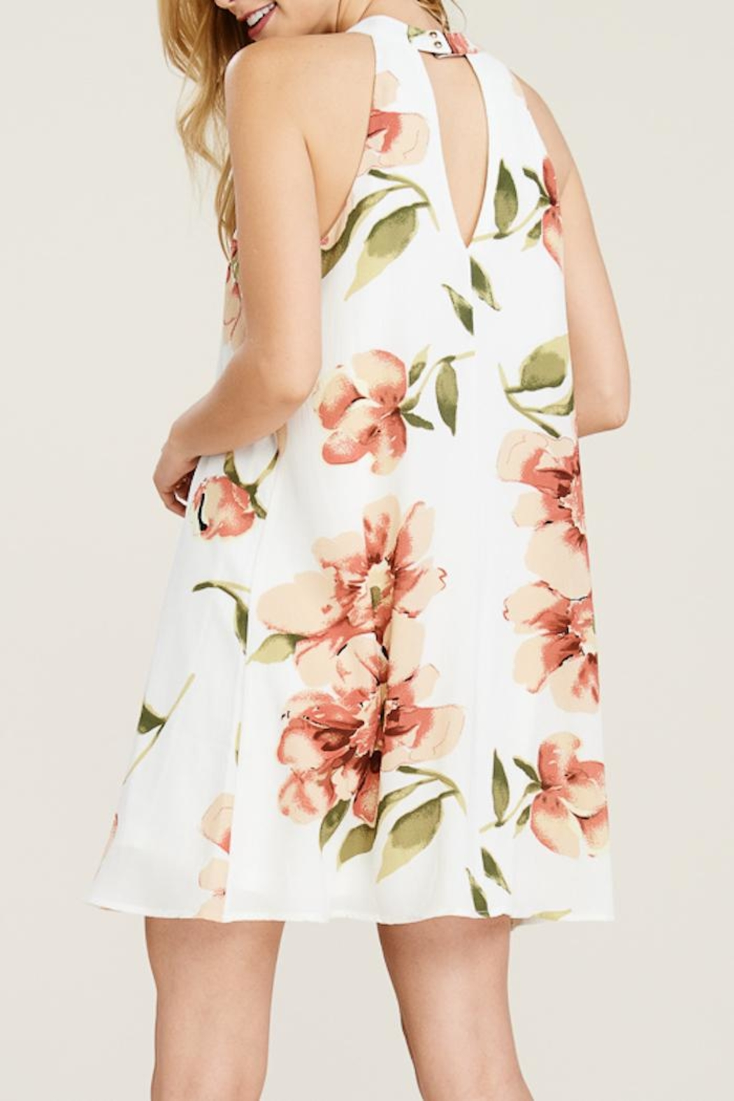 Staccato Floral Daydreams - Back Cropped Image