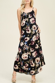 Staccato Floral Fusion Dress - Product Mini Image