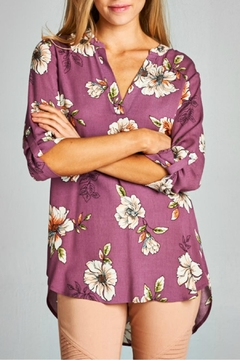Staccato Floral Print Blouse - Product List Image
