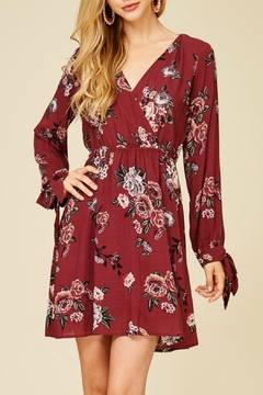 Staccato Floral Print Dress - Product List Image