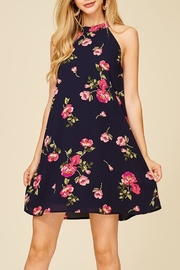 Staccato Fresh Cut Flowers Dress - Front full body