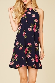 Staccato Fresh Cut Flowers Dress - Back cropped