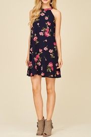 Staccato Fresh Cut Flowers Dress - Front cropped