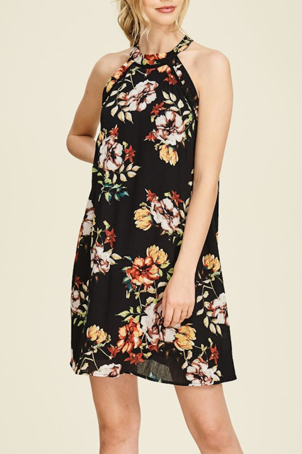 Staccato Garden Glory Dress - Front Full Image