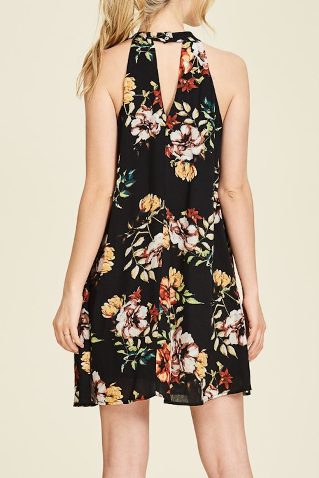 Staccato Garden Glory Dress - Side Cropped Image