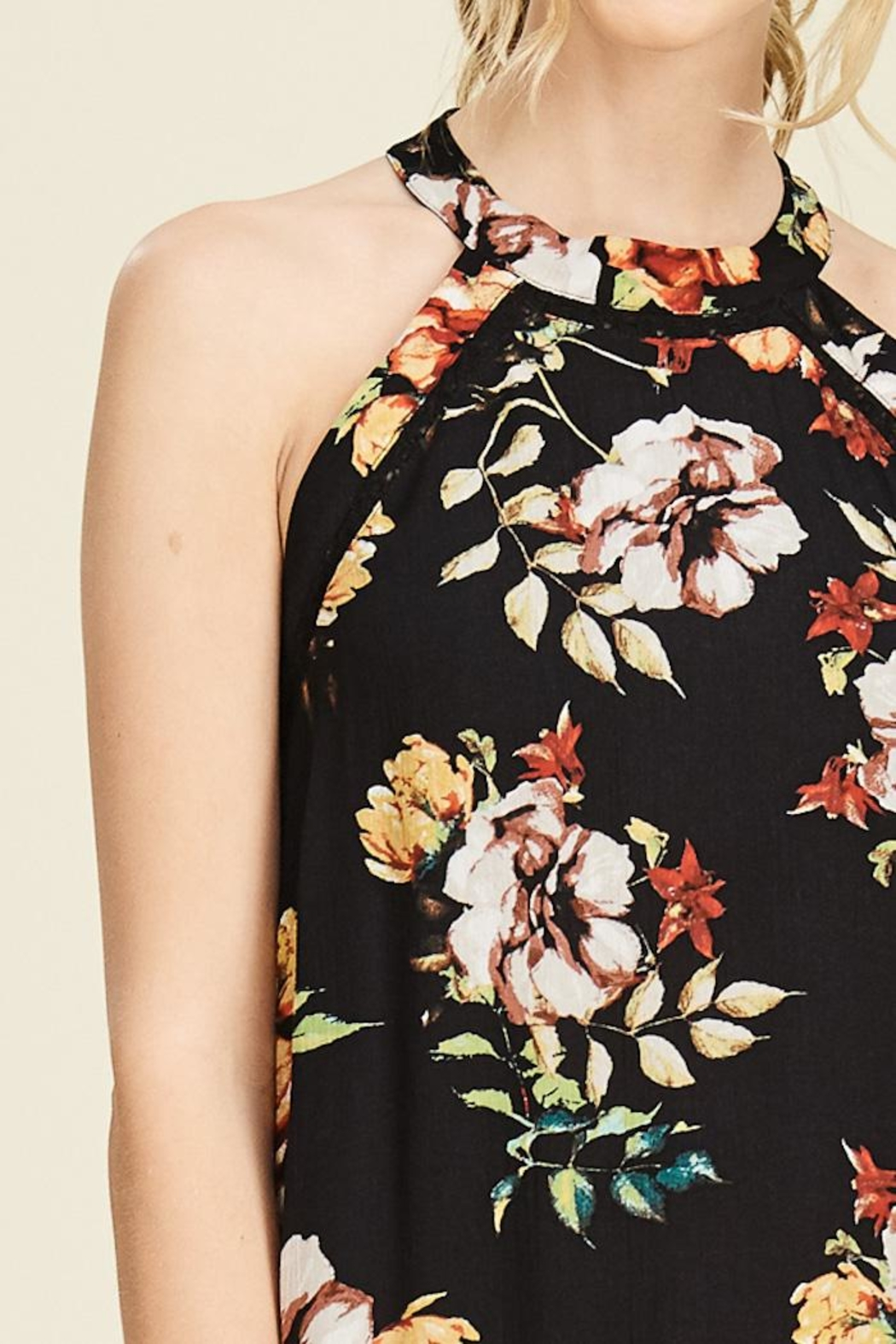 Staccato Garden Glory Dress - Back Cropped Image