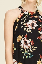 Staccato Garden Glory Dress - Back cropped