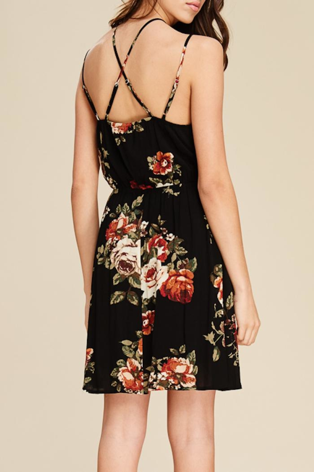 Staccato Garden Party Dress - Side Cropped Image