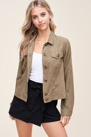 Staccato Green Envy Jacket - Product Mini Image