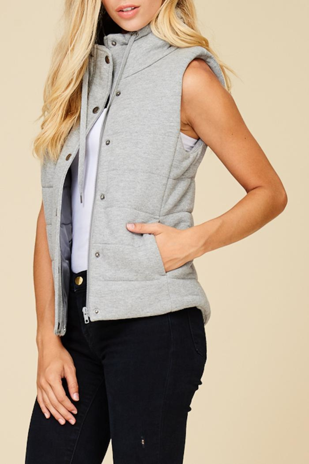 Staccato Hitting The Trail Vest - Back Cropped Image