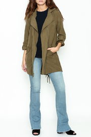 Staccato Hooded Anorak Jacket - Side cropped
