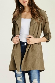 Staccato Hooded Anorak Jacket - Front full body