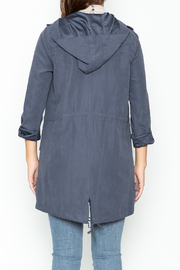 Staccato Hooded Anorak Jacket - Back cropped