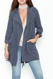 Staccato Hooded Anorak Jacket - Front cropped