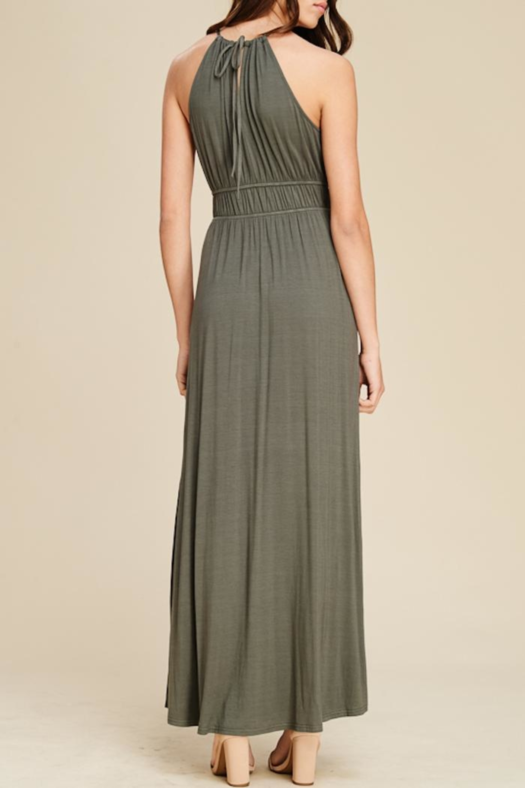 Staccato In The Moment Maxi Dress - Side Cropped Image